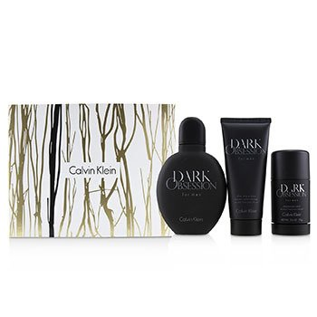 Dark Obsession Coffret: Eau De Toilette Spray 125ml + Deodorant Stick 75ml + After Shave Balm 100ml  3pcs