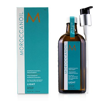 Moroccanoil Treatment - Light (For Fine or Light-Colored Hair)  200ml/6.8oz