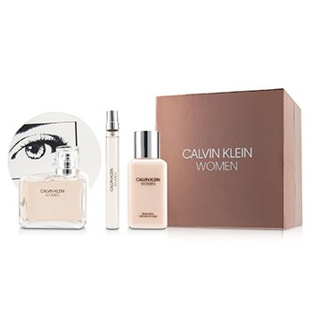 Women Coffret: Eau De Parfum Spray 100ml/3.4oz + Body Lotion 100ml/3.4oz + Eau De Parfum Spray 10ml/0.33oz  3pcs