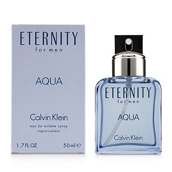 Eternity Aqua Eau De Toilette Spray (Without Cellophane)  50ml/1.7oz
