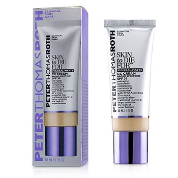 Skin to Die For Mineral Matte CC Cream SPF 30 - #Light (Exp. Date 05/2020)  30ml/1oz