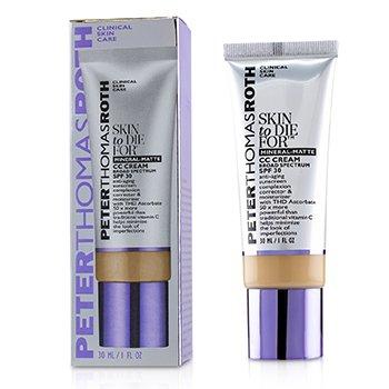 Skin to Die For Mineral Matte CC Cream SPF 30 - #Tan (Exp. Date 05/2020)  30ml/1oz