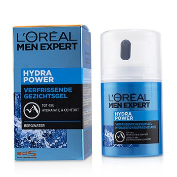 Men Expert Hydra Power Refreshing Face Gel To 48 Hours Hydration & Comfort  50ml/1.69oz