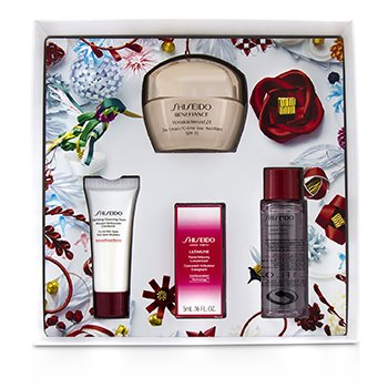 Benefiance WrinkleResist24 Set : Day Cream SPF15 50ml+Cleansing Foam 15ml+Softener 30ml+Ultimune Concentrate 5ml  4pcs