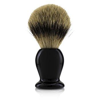 Handcrafted 100% Fine Badger Shaving Brush - # Black  -
