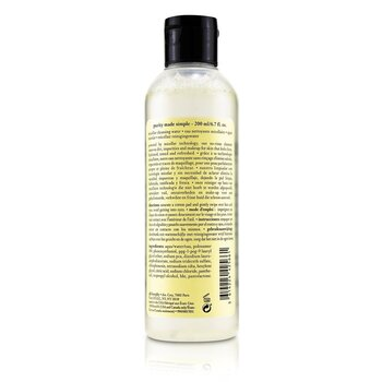 Purity Made Simple Micellar Cleansing Water  200ml/6.7oz
