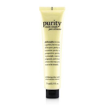 Purity Made Simple Pore Extractor Exfoliating Clay Mask  75ml/2.5oz