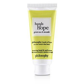 Hands of Hope Nurturing Hand & Nail Cream - Green Tea & Avocado  30ml/1oz