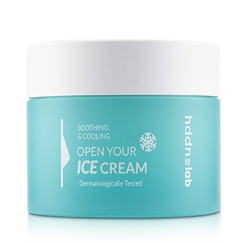 Hddn=Lab Open Your Ice Cream (Soothing & Cooling Icy Face Cream)  80ml/2.7oz
