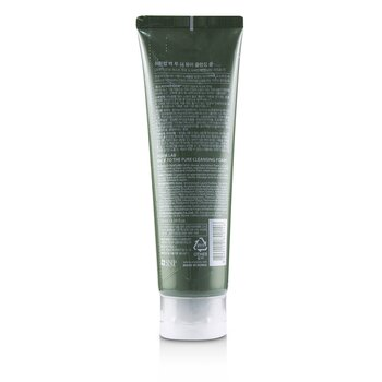 Hddn=Lab Back To The Pure Cleansing Foam - Calming & Soothing Cleanses Fine Dust  130ml/4.39oz