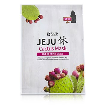Jeju Rest Cactus Mask (Nourishing)  10x22ml/0.74oz