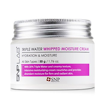 Lab+ Triple Water Whipped Moisture Cream - Hydration & Moisture (For All Skin Types)  50g/1.76oz