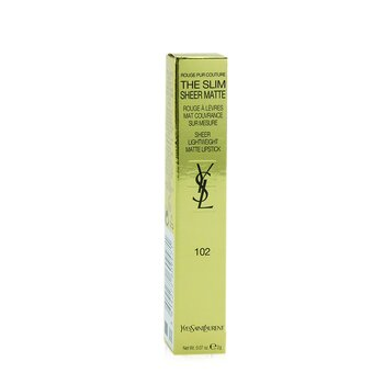 Rouge Pur Couture The Slim Sheer Matte Lipstick  2g/0.07oz