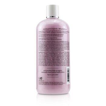 Amazing Grace Magnolia Shampoo,Bath & Shower Gel  480ml/16oz