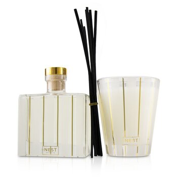 Holiday Coffret: Reed Diffuser 175ml/5.9oz + Scented Candle 230g/8.1oz  2pcs