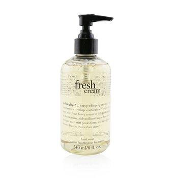 Fresh Cream Coffret: Hand Wash 240ml/8oz + Hand Lotion 240ml/8oz  2pcs