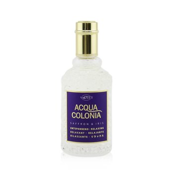 Acqua Colonia Saffron & Iris Eau De Cologne Spray  50ml/1.7oz