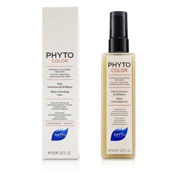 PhytoColor Средство для Активации Блеска (для Окрашенных, Мелированных Волос)  150ml/5.07oz