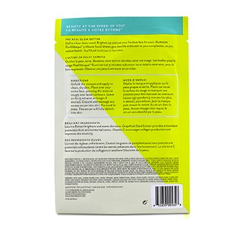 FlashMasque 5 Minute Sheet Mask - Illuminate  4x28ml/0.95oz