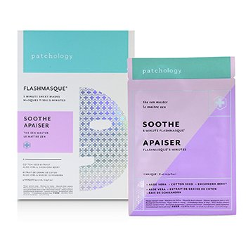 FlashMasque 5 Minute Sheet Mask - Soothe  4x21ml/0.74oz