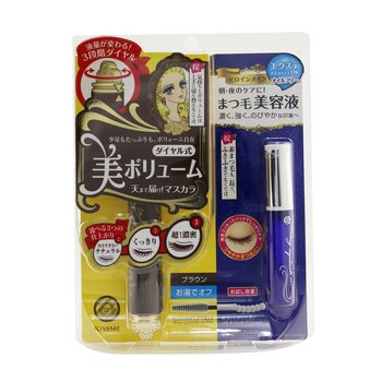 持久防水濃密調控睫毛液 & 睫毛修護精華套裝  2pcs