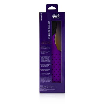 Pro Paddle Detangler - # Purple  1pc