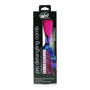 Pro Detangling Comb Electric Dreams - # Luminous Spiral  1pc