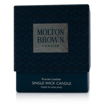 Single Wick Candle - Russian Leather  180g/6.3oz