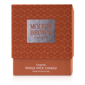 Single Wick Candle – Gingerlily  180g/6.3oz
