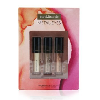 Metal Eyes Gen Nude Metallic Liquid Eyeshadow Trio  3pcs