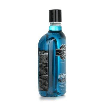 Agadir Men Active Recharge Hair & Body Sport Wash  508ml/17oz