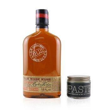 Man Made Wash & Paste Set - # Sweet Tobacco: 1x Shampoo, Conditioner & Body Wash 530ml + 1x Hair Paste 56.7g  2pcs