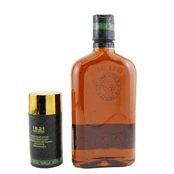Man Made Wash & Deodorant Set - # Spiced Vanilla: 1x Shampoo, Conditioner & Body Wash 530ml + 1x Deodorant Stick 75g  2pcs