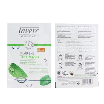 Sheet Mask - Purifying (With Natural Salicylic Acid & Organic Mint)  1sheet