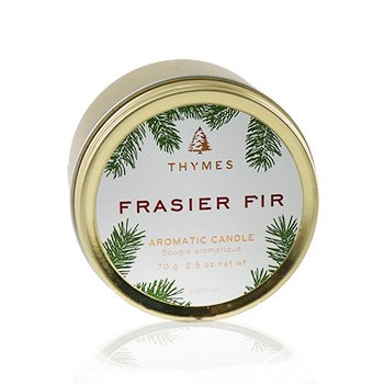 Aromatic Candle (Travel Tin) - Frasier Fir  70g/2.5oz