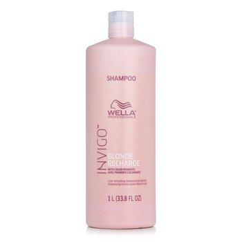 Invigo Blonde Recharge Шампунь для Усиления Цвета Волос - # Холодный Блонд  1000ml/33.8oz