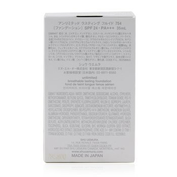 Unlimited Breathable Lasting Foundation SPF 24  35ml/1.18oz