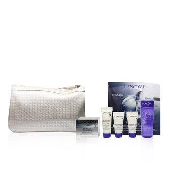 Renergie Travel Set: Lifting Cream + Gel Lotion + Serum + Eye Cream + Genifique Mask  5pcs+1bag