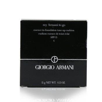 My Armani To Go Essence In Foundation Tone Up Cushion SPF 15  15g/0.53oz