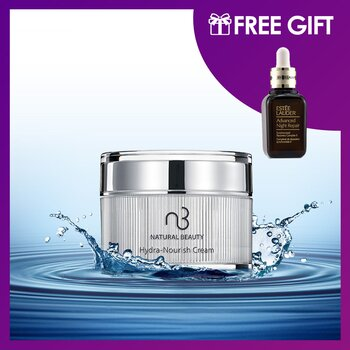 Hydra-Nourish Cream 30g (Free: Estee Lauder Advanced Night Repair Synchronized Recovery Complex II  30ml)  2pcs