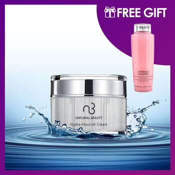 Hydra-Nourish Cream 30g (Free: Lancome Tonique Confort 400ml)  2pcs