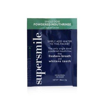 Single Dose Powdered Mouthrinse (No Alcohol/Sugar)  60x1.7g/0.06oz