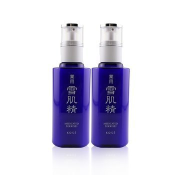 Sekkisei Emulsion Duo Set: 2x Sekkisei Emulsion 140ml  2pcs