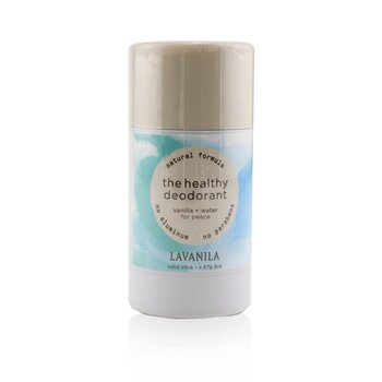 The Healthy Deodorant - Vanilla + Water  57g/2oz