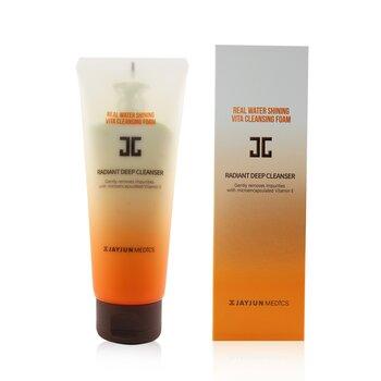 Real Water Shining Vita Cleansing Foam - Radiant Deep Cleanser  150ml/5.07oz