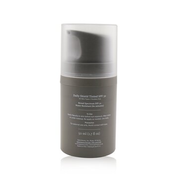 Daily Shield Lotion Tinted SPF 50 - For All Skin Types (Unboxed)  50ml/1.7oz