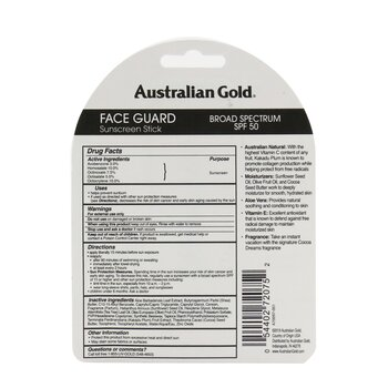 Face Guard Sunscreen Stick Broad Spectrum SPF 50 - #1 Fragrance  14g/0.5oz