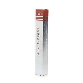 4 in 1 Lip Duo  (Dual Ended Matte Lipstick + Lip Oil)  8.7ml/0.3oz