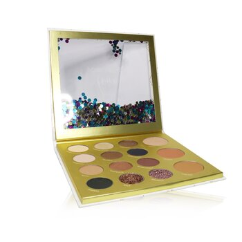 Love Your Selfie 3 Sweet 16 Face Palette (10x Eyeshadow, 2x Glitter Base, 1x Highlighter, 1x Bronzer, 1x  Mini Mascara, 1x Blush)  -