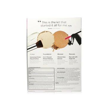 Best Sellers Kit (5 Piece Beauty To Go Collection) (1x Primer, 1x Powder, 1x Bronzer, 1x Mascara, 1x Brush)  5pcs